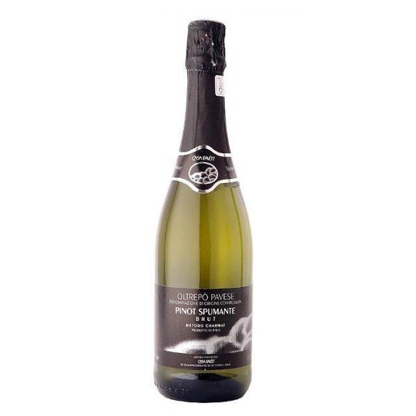 Pinot Spumante Azienda Vitivinicola Casa Favot - Pietra de Giorgi Pavia - Oltrepò Pavese